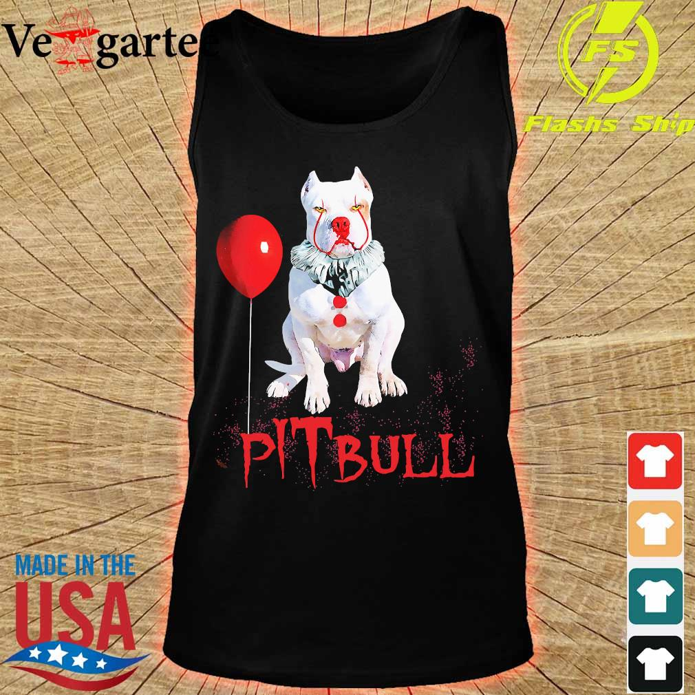 Halloween Stephen king IT Pitbull s tank top