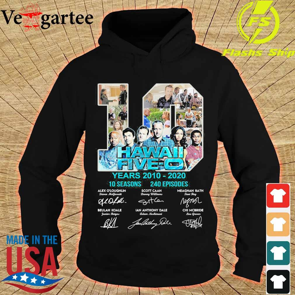 Hawaii Five-O 10 years 2010 2020 10 seasons 240 episodes signature s hoodie
