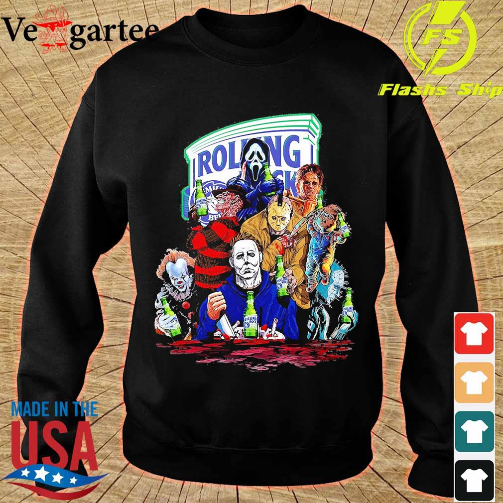 Horror character Rolling rock s sweater