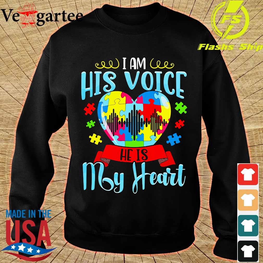 I am his voice He is my heart s sweater