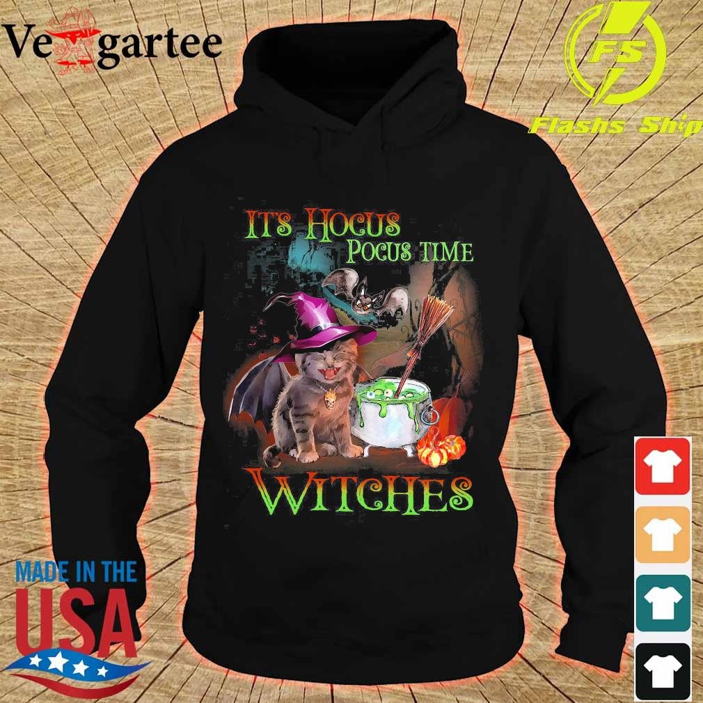 It's hocus pocus time witches s hoodie