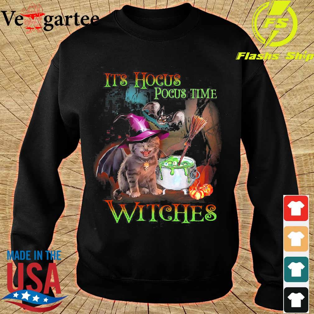 It's hocus pocus time witches s sweater