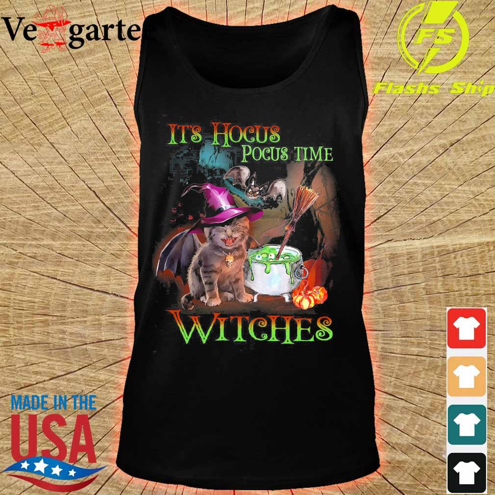 It's hocus pocus time witches s tank top
