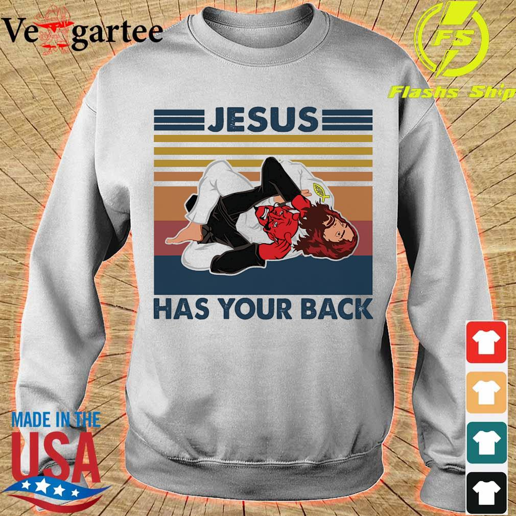 Jesus has your back vintage s sweater