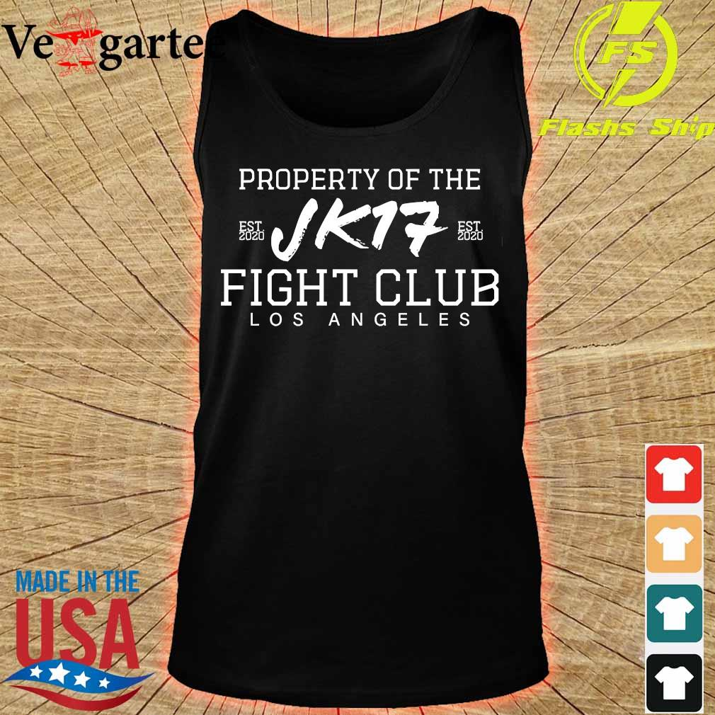 Joe Kelly Property of the Jk17 fight club Los Angeles s tank top