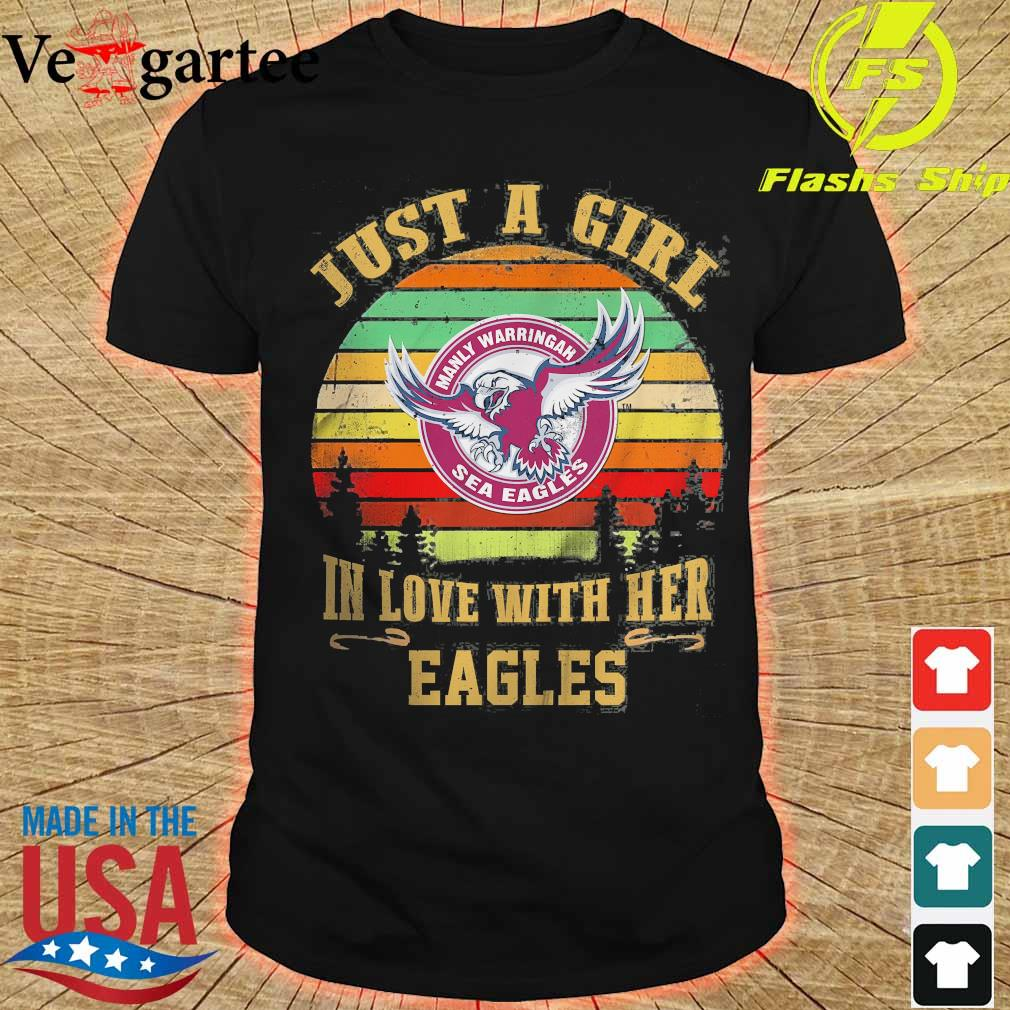 Just a girl in loves with her Eagles vintage shirt