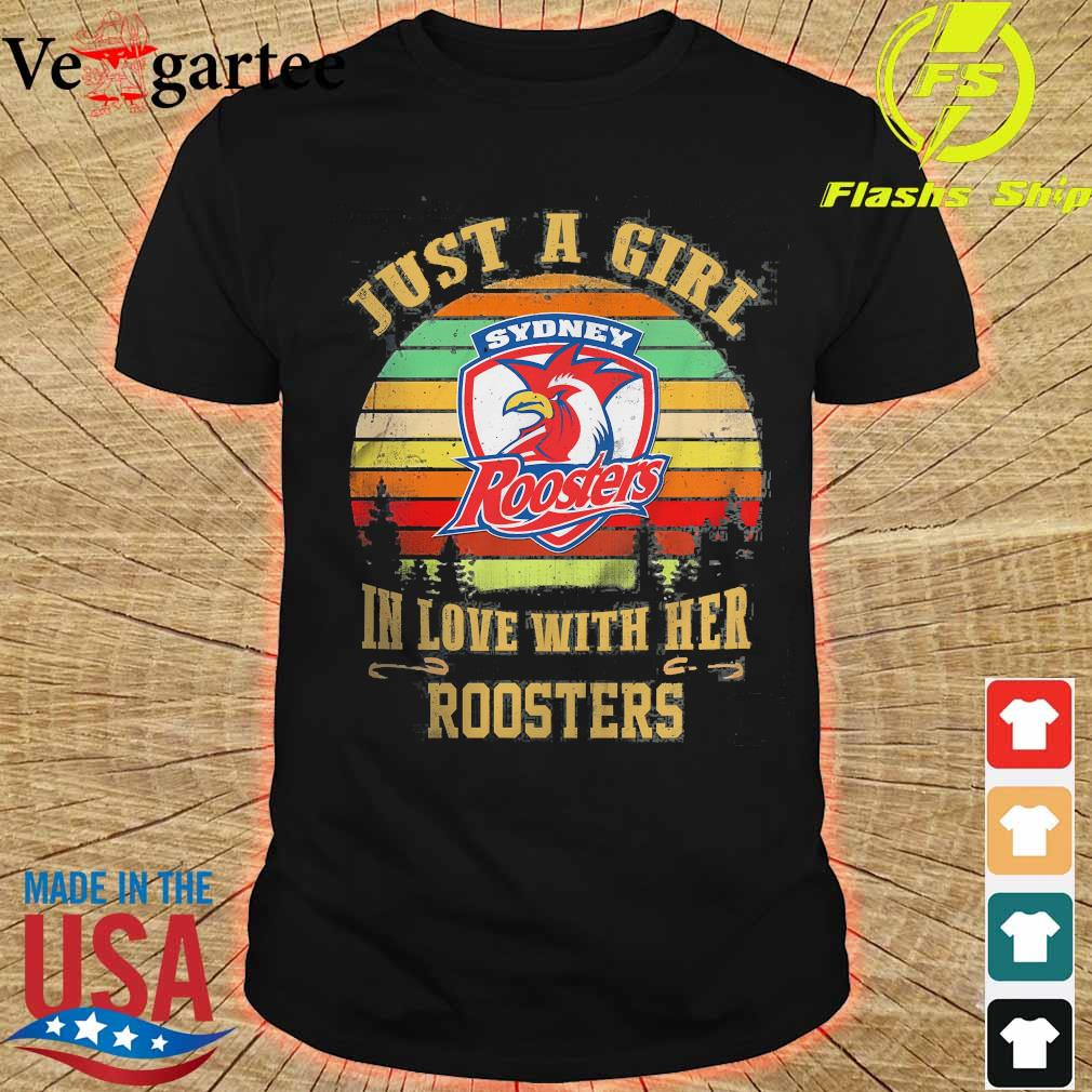 Just a girl in loves with her Roosters vintage shirt