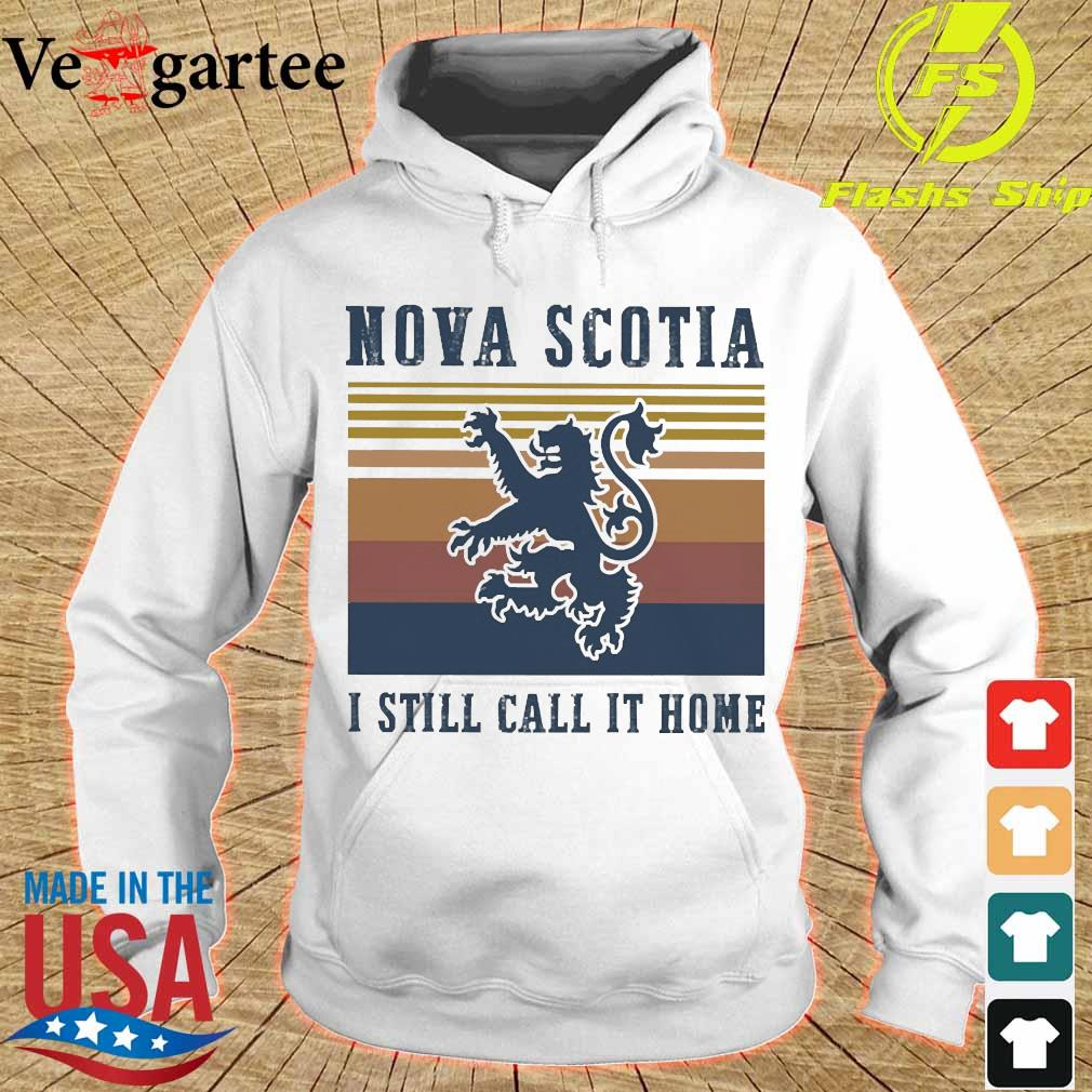 Nova Scotia I still call it home vintage s hoodie