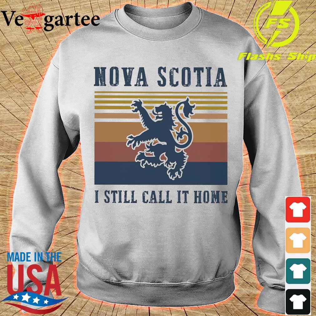 Nova Scotia I still call it home vintage s sweater