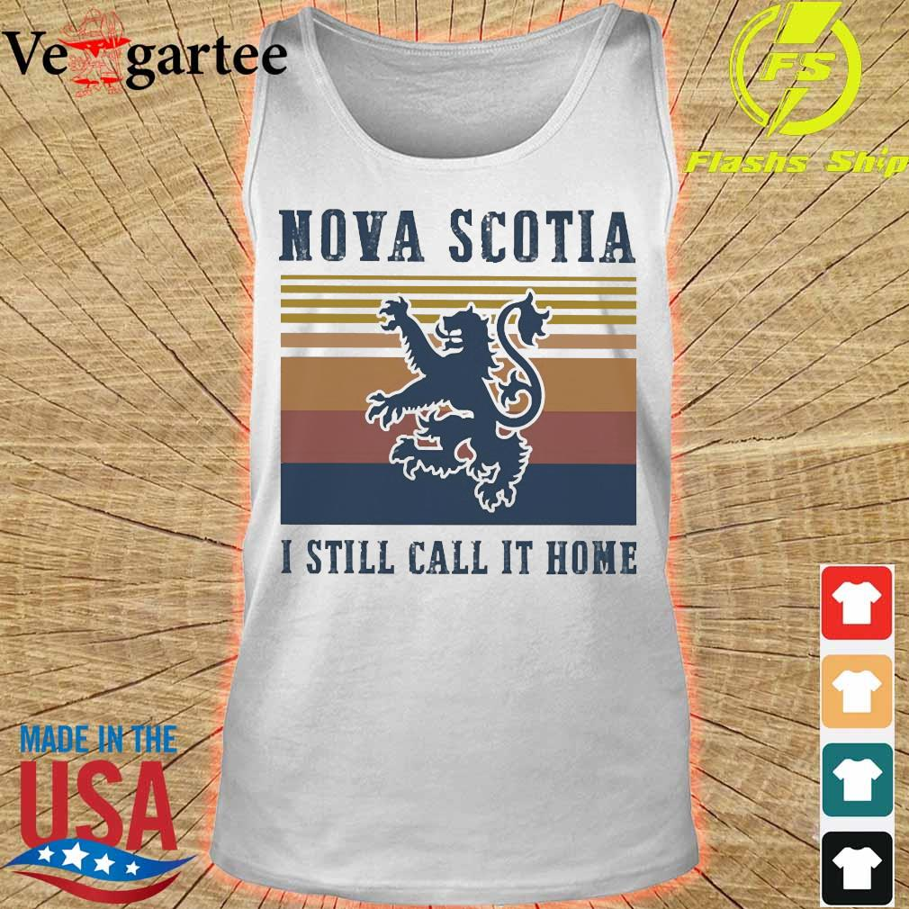 Nova Scotia I still call it home vintage s tank top