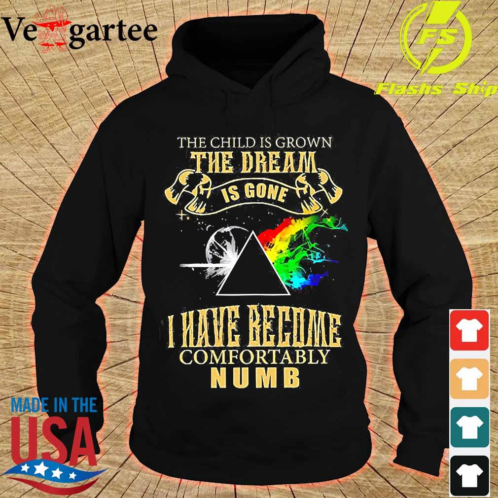 Pink Floyd the child is Grown the dream is gone I have become comfortably numb s hoodie