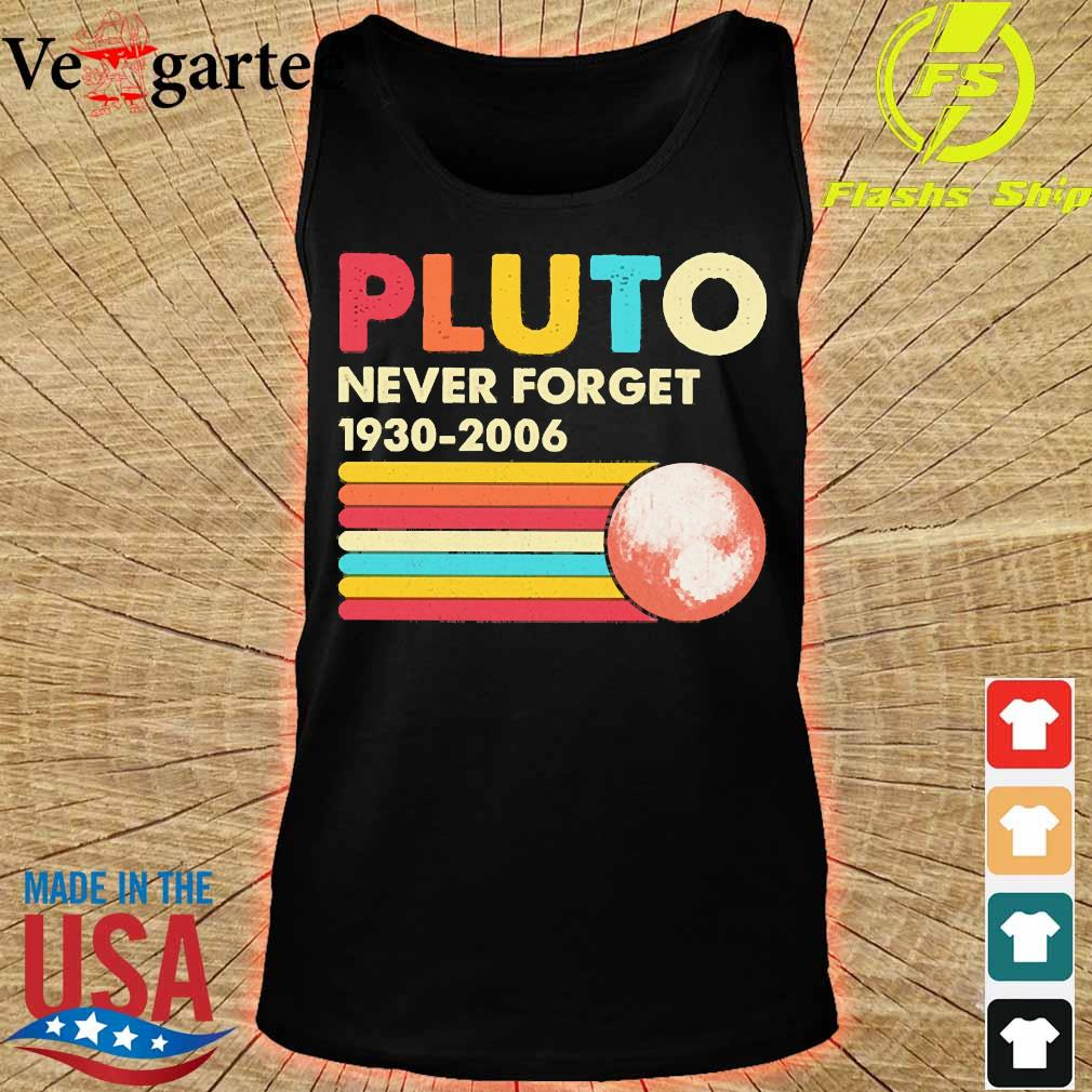 Pluto never forget 1930 2006 vintage s tank top