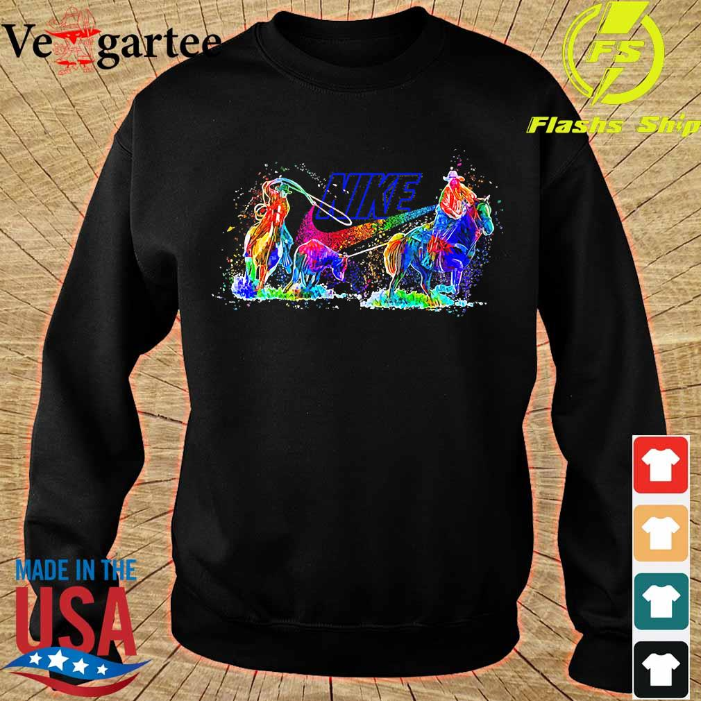 Riding Horse Nike s sweater