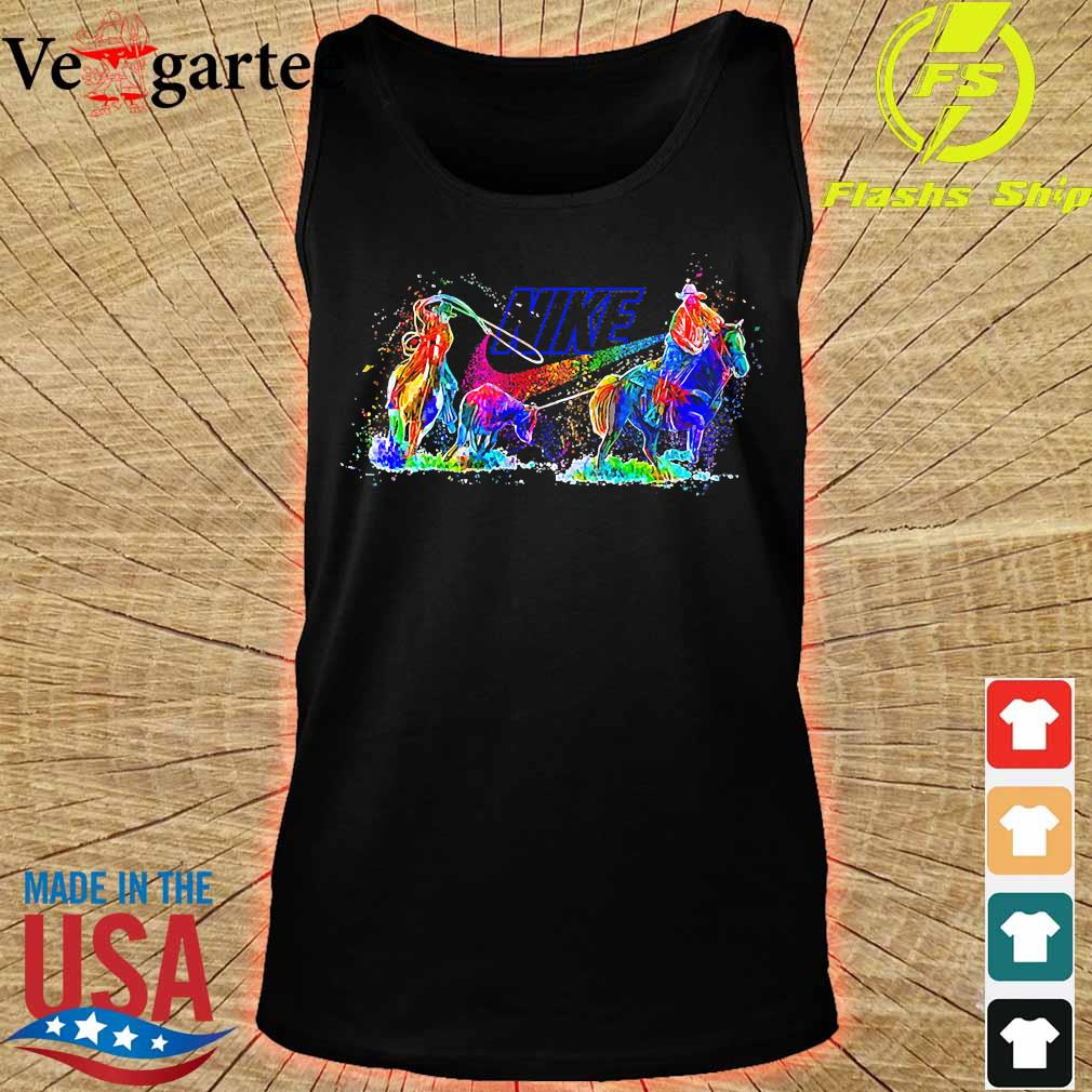 Riding Horse Nike s tank top