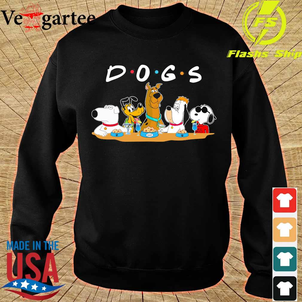 Scooby Doo Snoopy Dogs friends s sweater