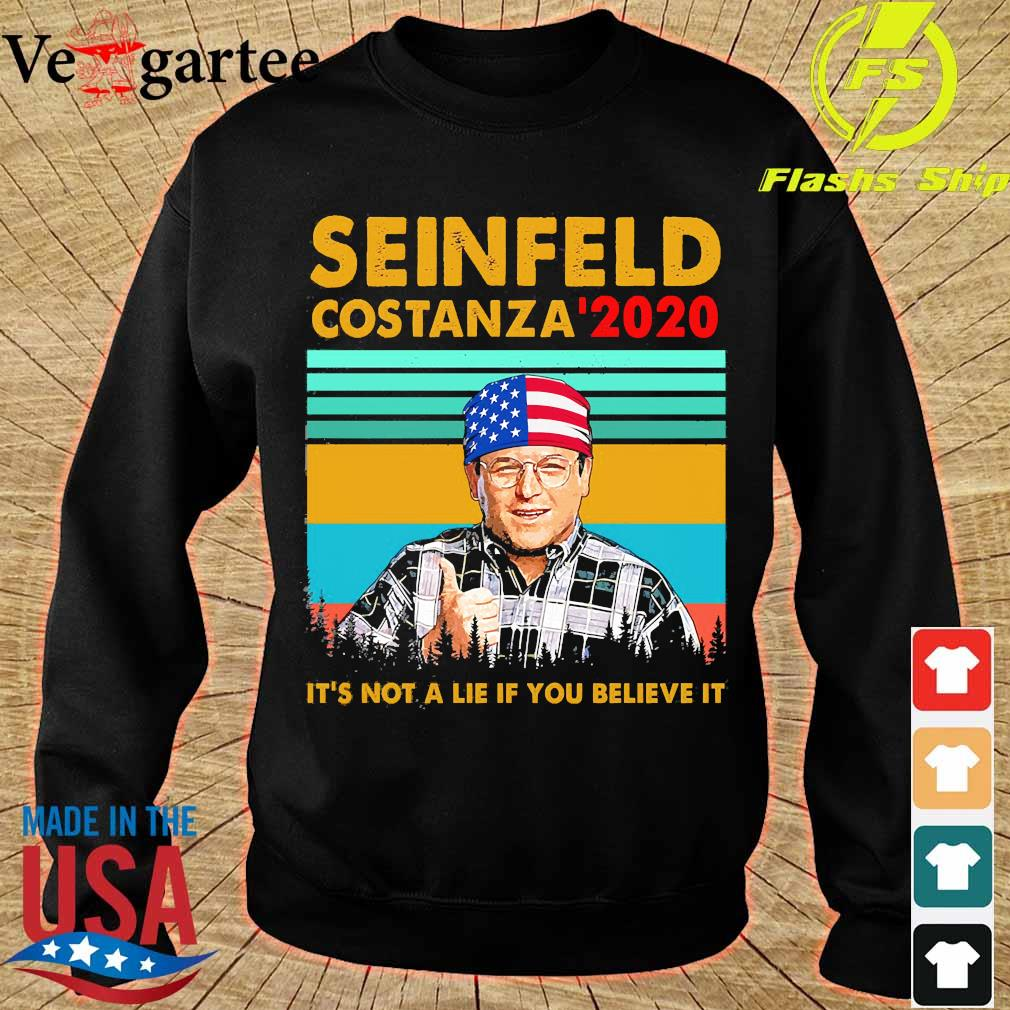 Seinfeld costanza '2020 It's not a lie if You believe it vintage s sweater
