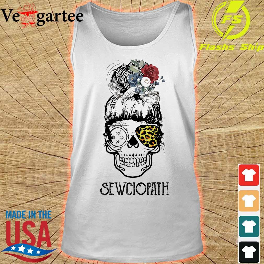 Skill girl leopard sewciopath s tank top