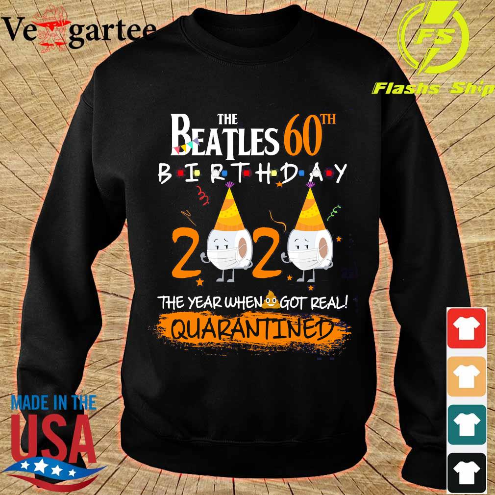 The Beatles 60th birthday 2020 the year when got real quarantined s sweater