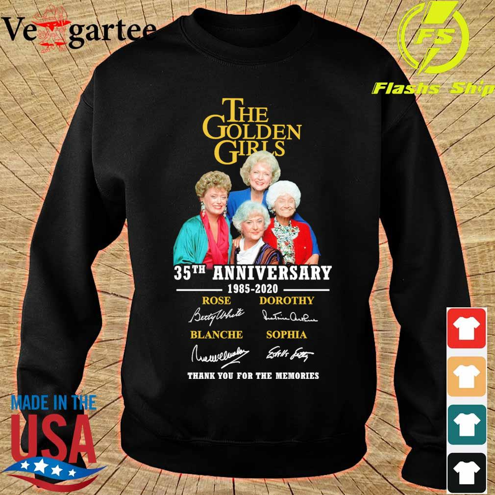 The Golden girls 35Th anniversary 1985 2020 signatures s sweater
