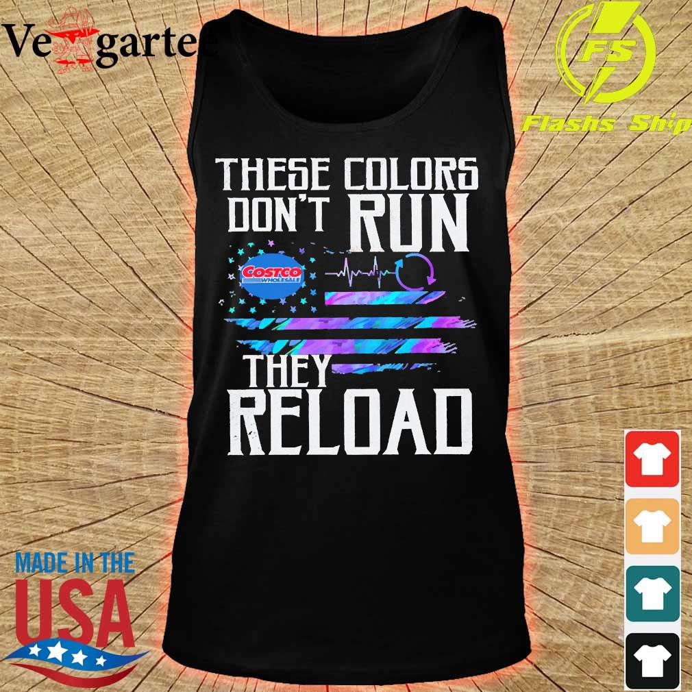 These colors don't run Costco They reload s tank top