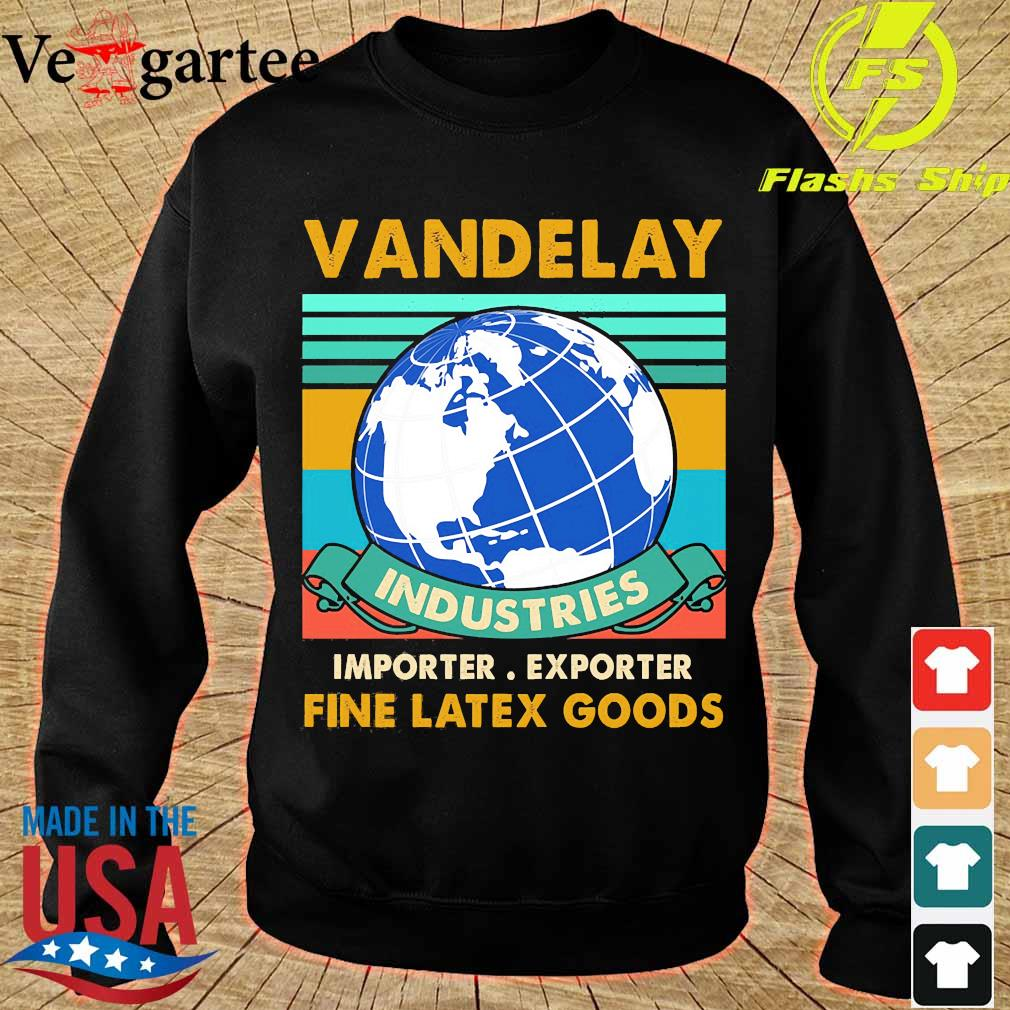 Vandelay importer exporter fine latex goods vintage s sweater
