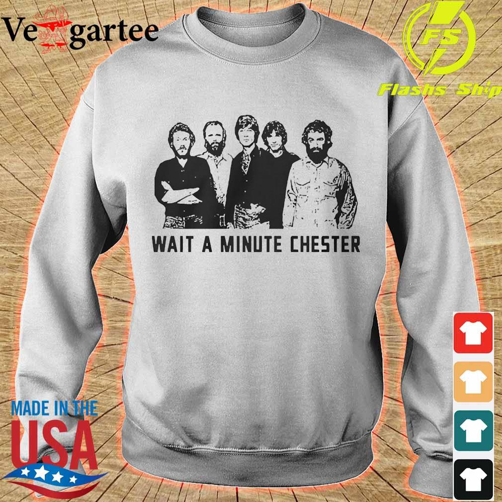 Wait a minute chester the band version s sweater