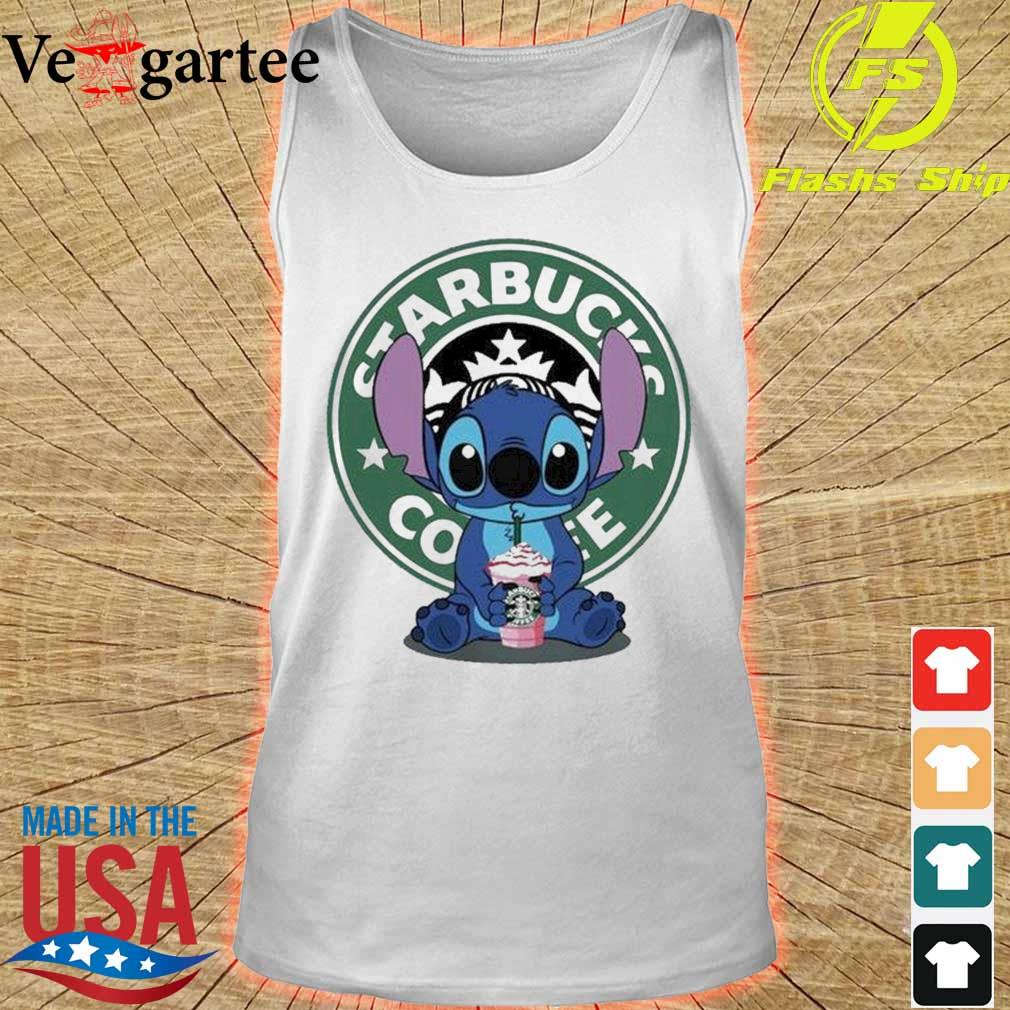 Stitch Starbucks Coffee s tank top