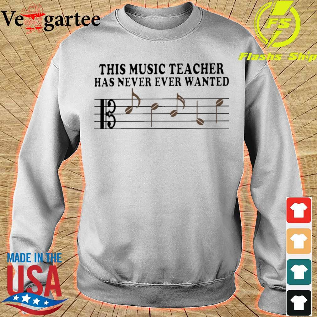 This music Teacher has never ever wanted s sweater