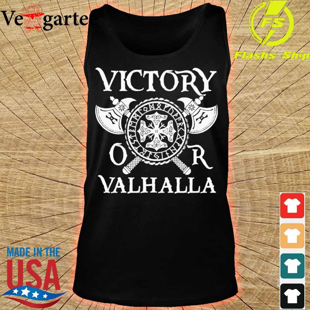 Victory or Valhalla s tank top