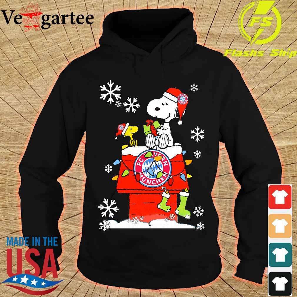 Snoopy and Woodstock FC Bayern Munchen happy Christmas 2020 s hoodie